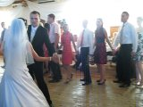 Our first dance as husband and wife:-)