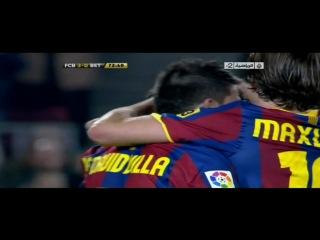 Месси ,абсолютно ВСЕ его действия в матче Барселона Бетис 13.1.2011 качество (720)