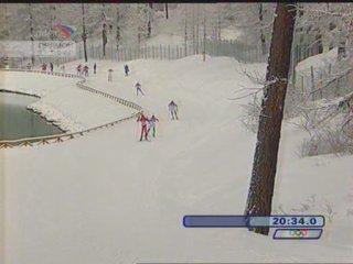 Олимпийские игры 2006. Биатлон. Масс-старт 15 км. Мужчины.