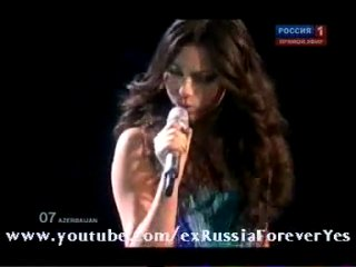 EUROVISION 2010 - AZERBAIJAN - SAFURA - Drip-Drop (Азербайджан-Сафура)
