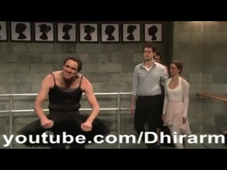Saturday Night Live - Jim Carrey Black Swan Parody Skit