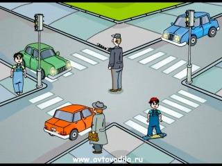 Учим сигналы регулировщика. http://vk.com/pdd_po_zhizni