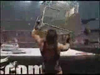Raven vs Rhino (WWF Backlash, 4-29-01, Hardcore Title)