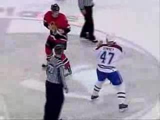 самая кровавая драка в хоккее за всю историю NHL