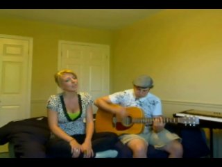Justin Bieber - One Time - Acoustic Cover - Lynzie Kent and Rich G (DMB Crash)