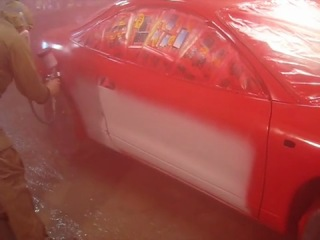 Полная покраска авто в эксклюзивный цвет MIPA GEMINI
