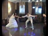 шуточный свадебный танец с элементами хип-хопа, самбы, макарены