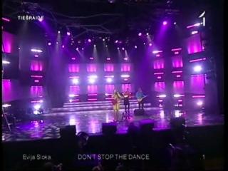 Evija Sloka - Don't Stop The Dance