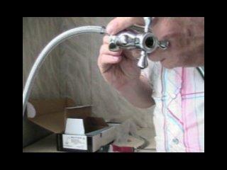 как отремонтировать и установить смеситель