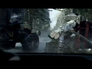 Креативная реклама нового вида тормозов Mercedes Benz