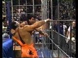 Vader, Cactus Jack, Abdullah The Butcher &amp Diamond Studd (Scott Hall) Vs Sting, Steiners &amp El Gigante