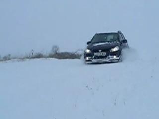 Suzuki SX4 4x4 fun and snow
