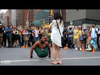 самый гибкий уличный танцор