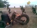 В армии тоже любят пошутить