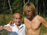 Сыроеды Ваге Даниелян (90 лет) и Маркус Роткранз (50 лет)
