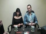 Слава Крикливый и Анна Мельникова