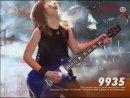 Игра на соло гитаре от 12 летнего парня,на 52сек. долбит Slipknot