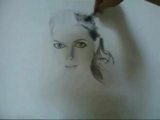 Me Drawing Kate Beckinsale