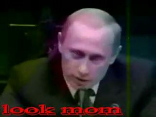 Саакашвили и Путин   (пародия на 'Малыш и Карлсон')