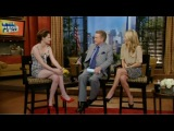 Kristen On Live With Regis & Kelly