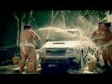 subaru forester - car wash