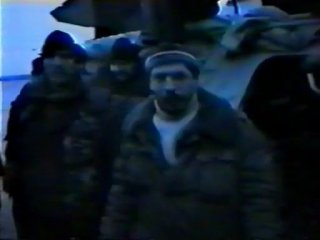 Война в Чечне, спецназ МВД СОБР, весна 1996 г, Грозный, пл. Минутка Вот так умерал Липецкий СОБР