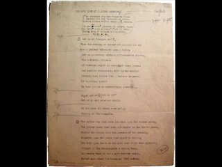 T.S. Eliot vs. Portishead - The Love Song of J. Alfred Prufrock