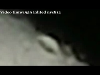 ALIEN ALERT: WHAT ARE THEY DOING IN THE MOON??? ( RAW VIDEO )