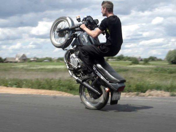 Jawa 350 stunt tuning Ява 350 стант тюнинг