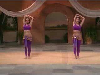 Танец живота. Фитнесс для начинающих (Вина и Нина) - Урок 7