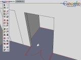 Взаимодействие Google SketchUp и САПР. 3.Двери и окна(Eng)