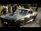 Ford Shelby Mustang GT500 Eleanor 1967 35 секунда, этот мощный звук двигателя!:)
