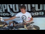 The Dillinger Escape Plan Billy Rymer Drum Solo