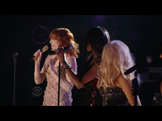 Christina aguilera feat.jennifer hudson, florence welch, martina mcbride and yolanda adams - grammys tribute to aretha franklin