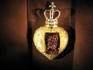 Сальвадор Дали, ювелирное изделие Живое сердце(выставка)