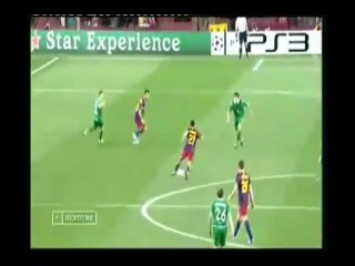 [Лига Чемпионов] «Барселона» - «Рубин» - 2:0   Групповой раунд