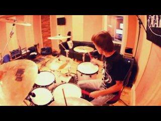 Федор Локшин (ударник группы STIGMATA) - Зачем (metal remix). Из говна музыку слепил. )))