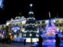 Елка на Привокзальной площади, г. Харьков. Новый год 2010