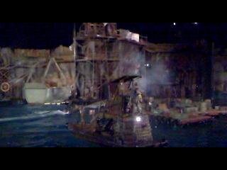 Живой показ фрагмента из фильма