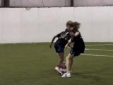 Тренировка по футболу. Девочки 12-13 лет ВОТ ЭТО ТРЕНИРОВКА!