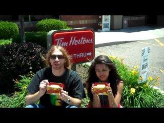 Jessica Jarrell & Dave Reynolds at Tim Hortons
