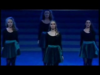 Ирландский танец (музыка: кельтская флейта, шотландская волынка и ирландская чечетка)