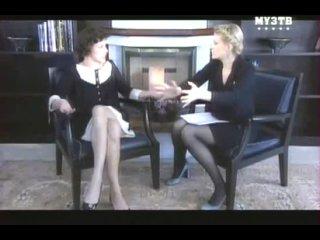 Рената Литвинова. Интервью с Милой Йовович.