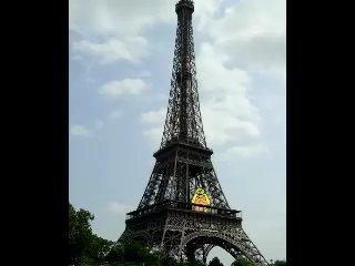 Писикак в Париже