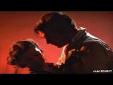 Первый поцелуй Скарлетт О Хара и Ретта Батлера Унесенные ветром, 1937