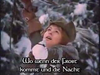 Карел Готт - Птичка, где твоё гнёздышко? на немецком языке(Три орешка для золушки)