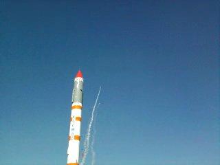 СибГау. 1 сентября. Запуск модели ракеты.