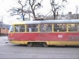 Tatra-T3SU #3042, #402 и #379