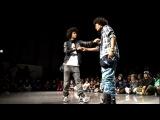 Laurent vs Larry DANCE@LIVE HIPHOP SIDE WEST Final