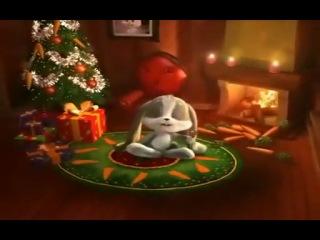 Новогодняя песенка зайчика Шнуфеля!!